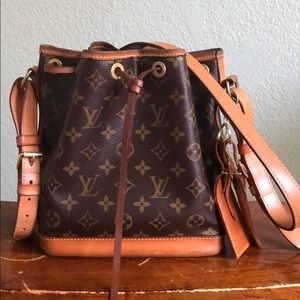 Louis Vuitton noe bb crossbody (no trades)